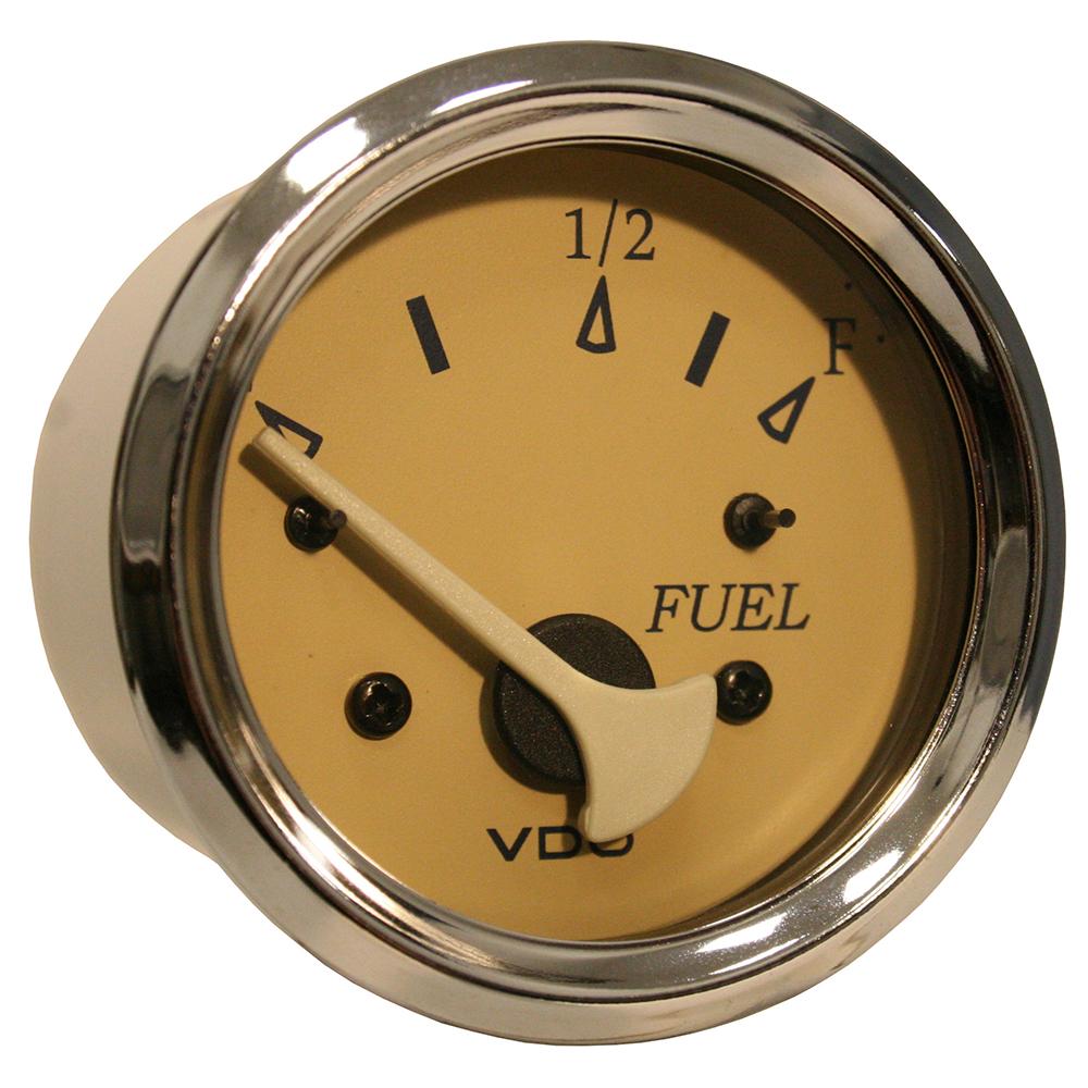 vdo allentare teak fuel level gauge use w marine 240 33. Black Bedroom Furniture Sets. Home Design Ideas
