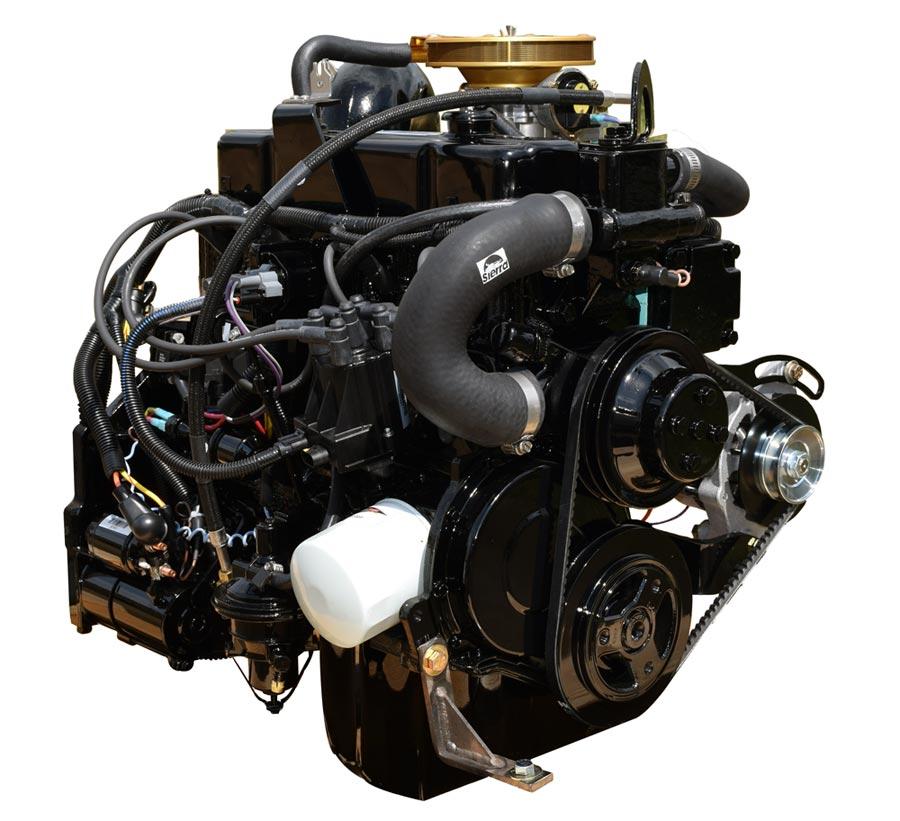 marine power 3 0l engine for i  o applications empe181s o